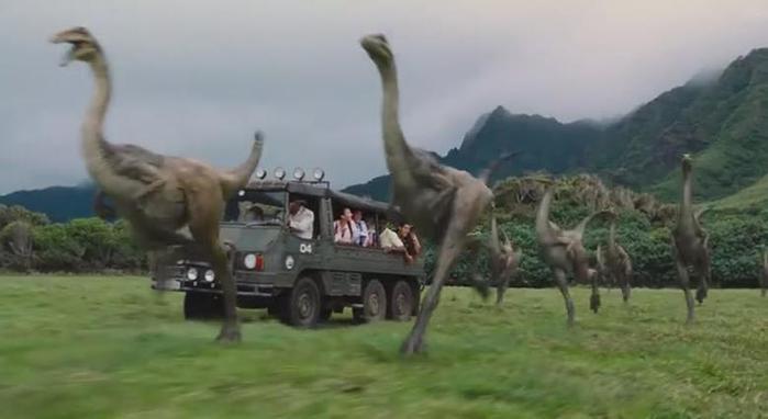 Экспериментальный динозавр в трейлере фильма «Мир Юрского периода»