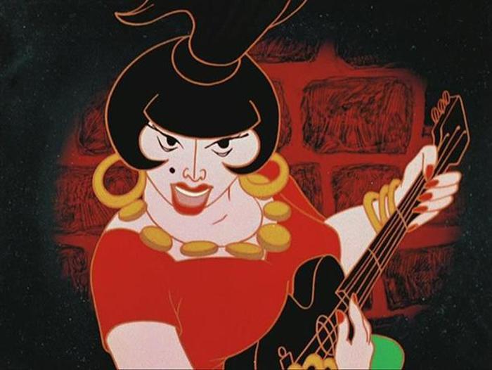 Красавицы из советских мультфильмов