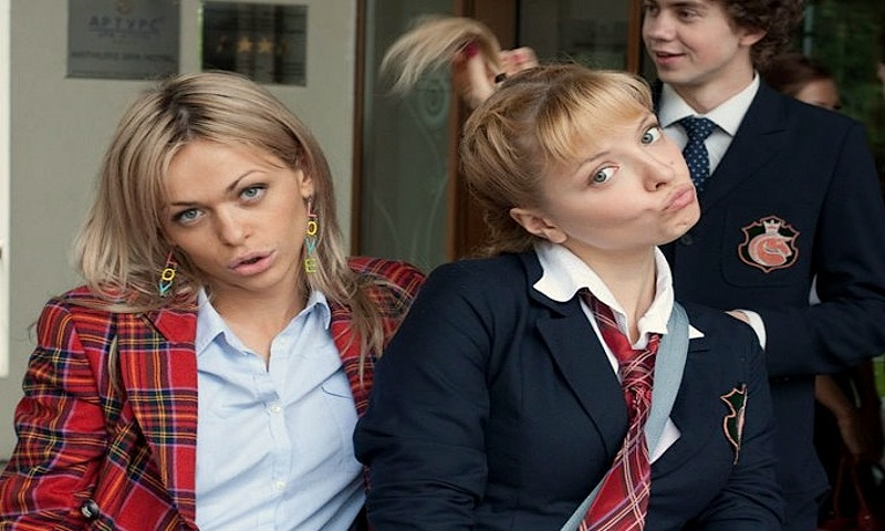 Российские и зарубежные молодежные сериалы