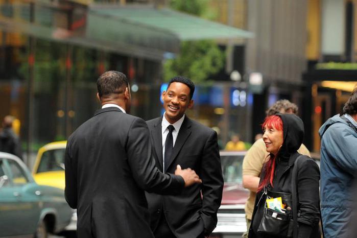Новая трилогия «Люди в черном» с новыми актерами