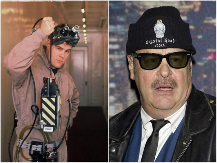 Актеры фильма «Охотники за привидениями» через 30 лет