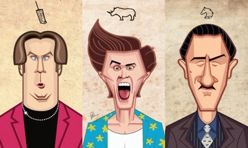 Творческая карьера в одной гифке: 11 знаменитых актеров Голливуда
