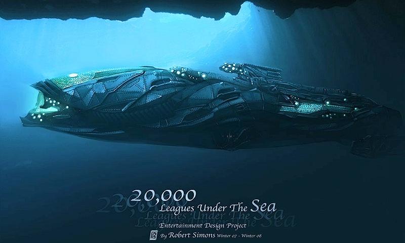 20000 лье под водой: Капитан Немо 2018 - экранизация романа