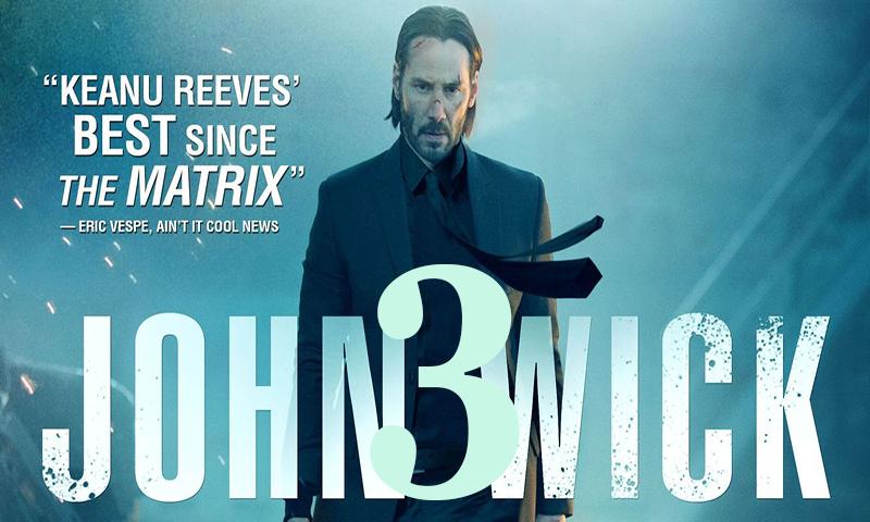 Джон Уик 3 с Киану Ривз