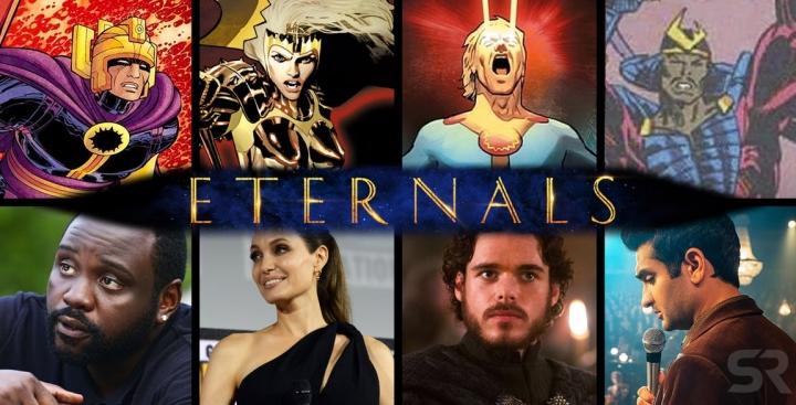 Состав «Вечных» от Марвел. Всё об атёрах и персонажах
