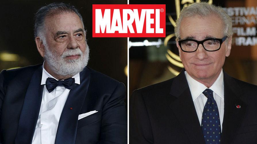 Коппола и Скорсезе критикуют фильмы Марвел. Объективное мнение или зависть